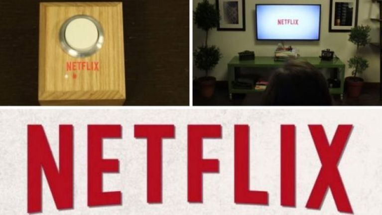 VIDEO: This 'Netflix and Chill' button is the greatest