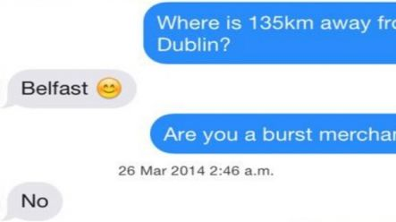 PICS: This Irish lad has gotten revenge on his mate by