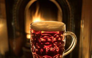 Do you enjoy a drink beside a fire? Then you'll love this Irishman's new website