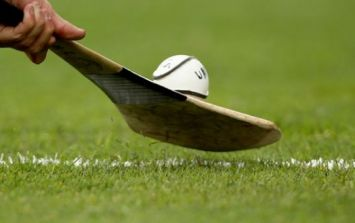 Only in Ireland – Hurling ref tops up the tan at halftime during senior challenge match