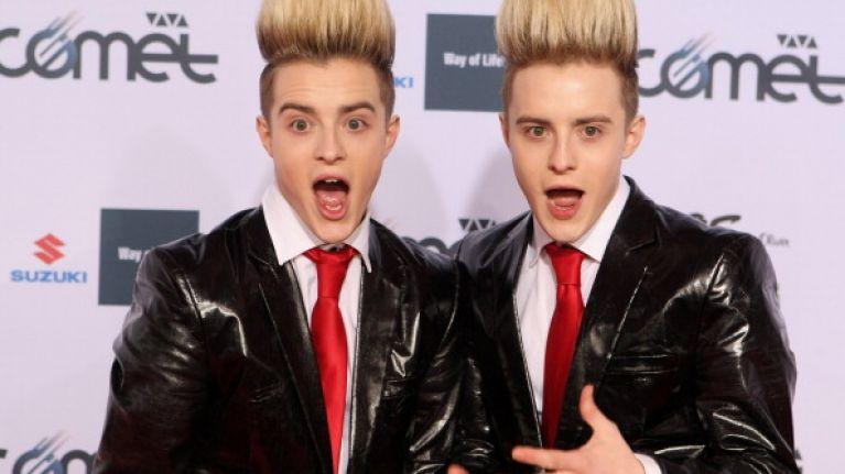 VIDEO: Jedward performed at Junior Eurovision and things got weird