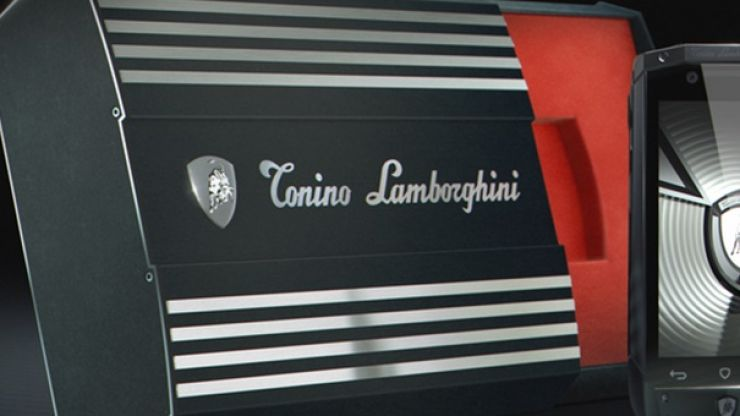Pic: Want to get your hands on a Lamborghini smartphone? It will only cost you five grand