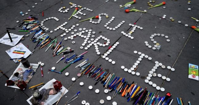 Pic: This week's front cover of Charlie Hebdo is incredibly powerful