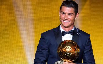 Cristiano Ronaldo wins Ballon d'Or for the fifth time