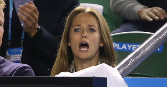 Vine: It looks like Andy Murray's fiancée celebrated his Australian Open win by swearing her mouth off