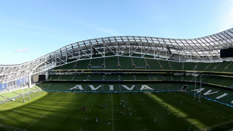 There's an app that can help you beat the queues for pints and food at the Aviva this weekend