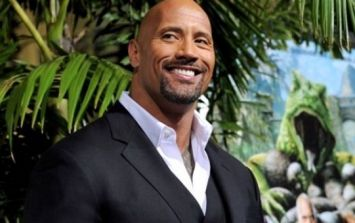 "Pic: The Rock is ""fresh out of f*cks to give"" in his latest inspirational workout message"