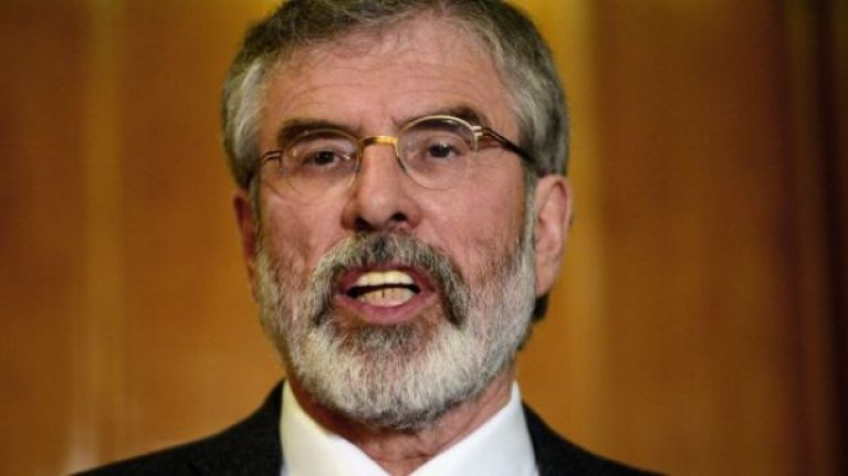 Gerry Adams slams DUP for ignoring Stormont talks to save power-sharing
