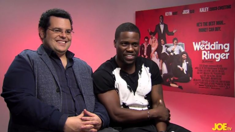 The Wedding Ringer.Joe Meets Kevin Hart And Josh Gad The Very Funny Stars Of The