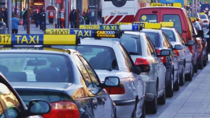 Four people arrested after they allegedly hijacked a taxi in Dublin