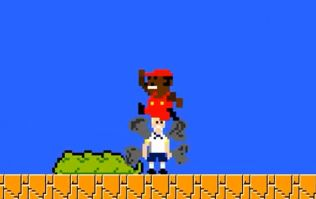 Video: Mario Balotelli's winner against Spurs has been given the Super Mario Brothers treatment