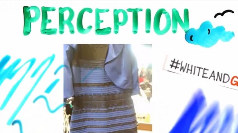dc72a31af556 Video: The colour of some dress is explained in this YouTube video ...