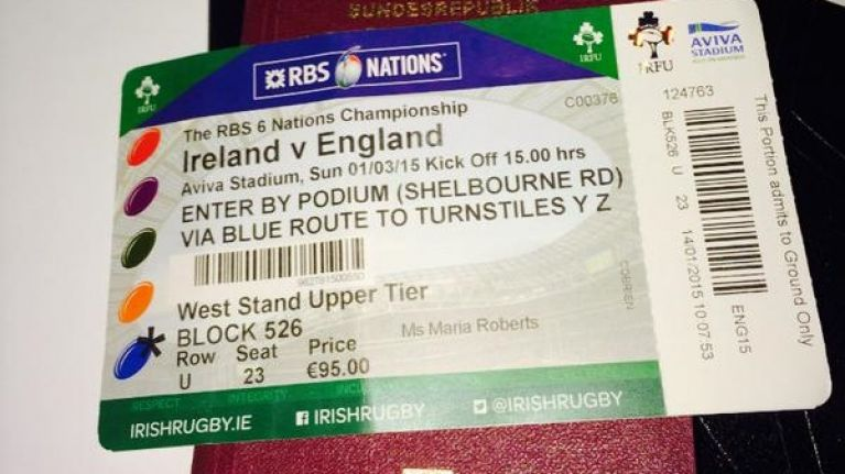 Former Liverpool star is packed and ready for Ireland v England at the Aviva