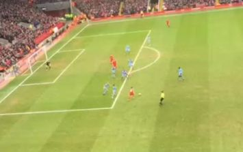 Video: Brilliant fan footage of Philippe Coutinho's winning goal for Liverpool yesterday