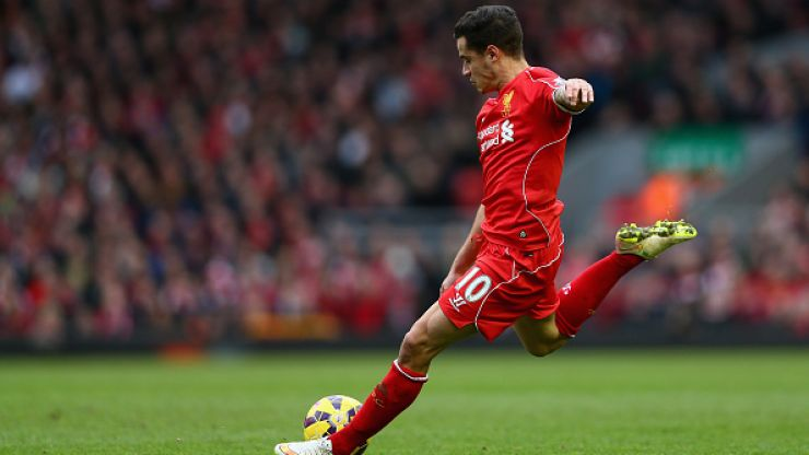 Philippe Coutinho's winner against Man City is uploaded to Pornhub