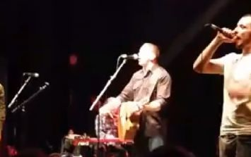 Video: Damien Dempsey, Maverick Sabre and Lethal Dialect perform 'Jump Around' at Paddy's Day gig in London