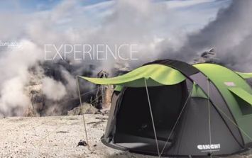 Video: The tent that's going to change your festival camping experience forever