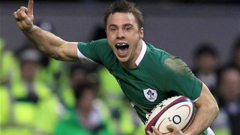 There's an excellent documentary about Tommy Bowe on TV tonight