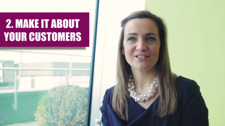 Video: Social Media specialist Felicity McCarthy gives us her Top Tips for start-ups