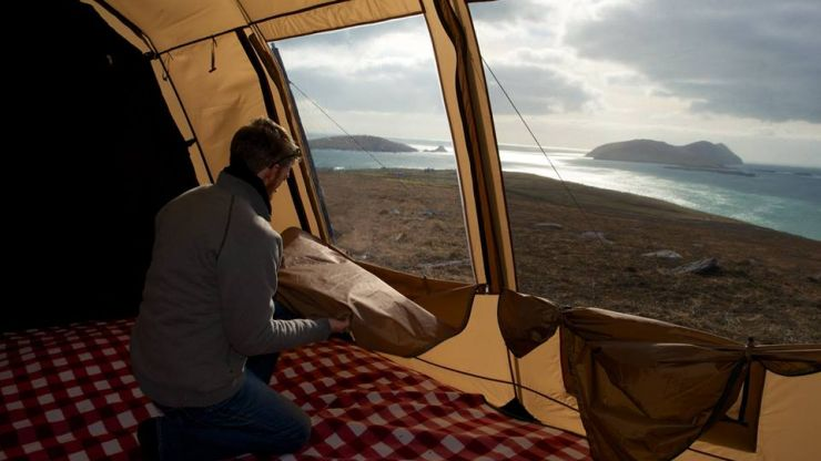 JOE meets the Irishman behind Thermo Tent - the world's 'very first correctly insulated tent'