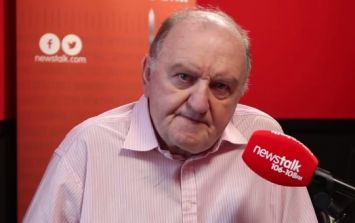 George Hook has been suspended by Newstalk