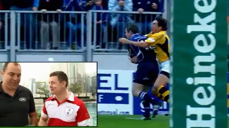 Video: Brian O'Driscoll analyses one of his greatest-ever tries as a guest host on Rugby HQ