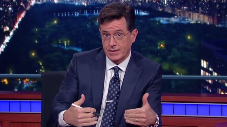 Stephen Colbert brilliantly points out that Ivanka Trump doesn't know how words work