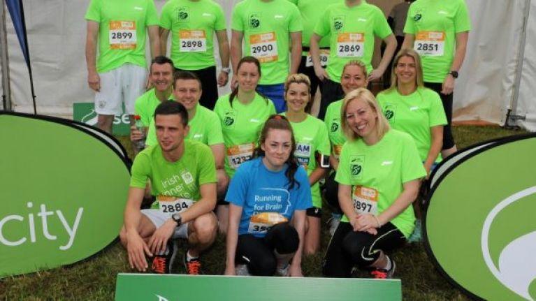 Aggressive epilepsy and running marathons: An Irish teenager's powerful story