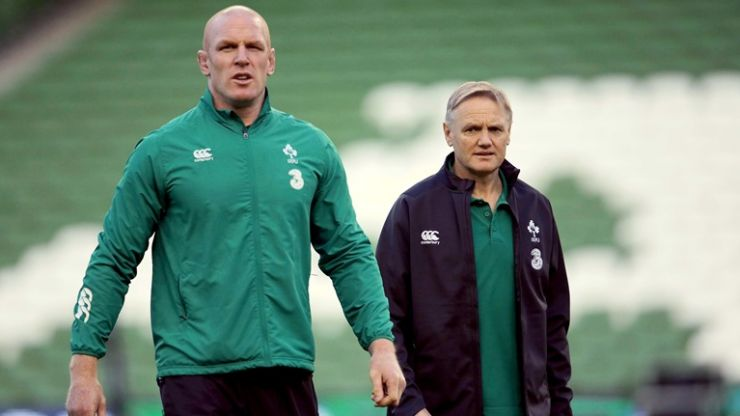 VIDEO: Joe Schmidt pays tribute to Paul O'Connell, Peter O'Mahony and Jared Payne