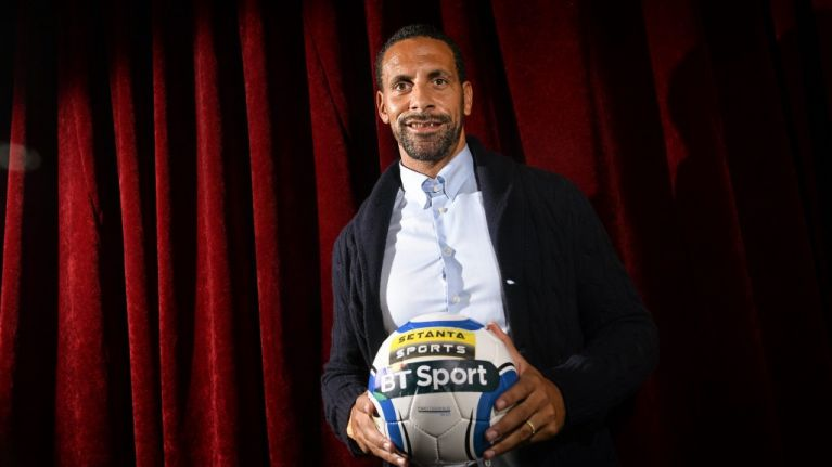 """""""We used to call him the Mayor of Waterford"""": JOE meets Rio Ferdinand at the Web Summit"""