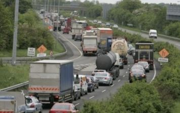 PIC: Limerick woman takes to Facebook to praise truck driver for very important intervention on the M7