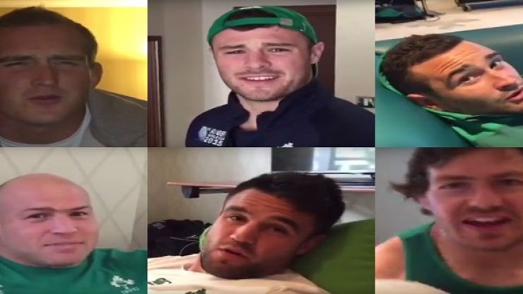 VIDEO: Irish rugby players slate groom for organising wedding during Rugby World Cup in best man's speech