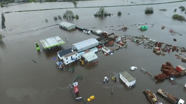 VIDEO: Unbelievable drone footage of the terrible flooding in Donegal and Tyrone