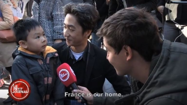 WATCH: A French Father Tries To Explain The Attacks To His