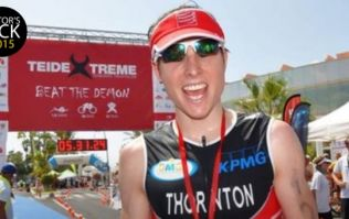 Meet triathlete Kevin Thornton, who has helped raise over half a million euro for Cancer Care West