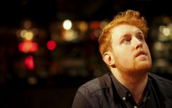 PIC: Gavin James says he 'feels like a Jaffa Cake' after this beard transformation