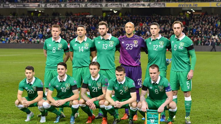 1b243ea5c PIC  Umbro reveal this class centenary crest for the Ireland soccer team in  Euro 2016