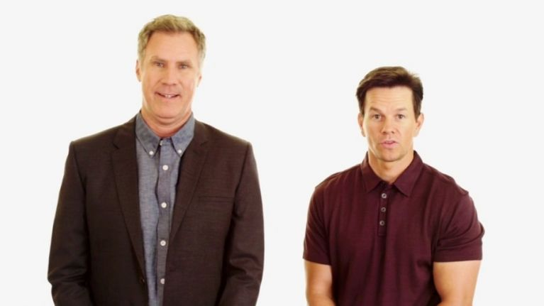 VIDEO: Will Ferrell and Mark Wahlberg are coming to Dublin and have a very special message for Irish fans