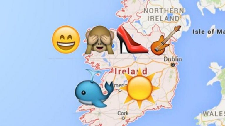 Map Of Ireland Quiz.Quiz Can You Name These 10 Irish Towns Using Emojis As Clues Joe