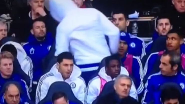 VIDEO: Diego Costa's frustration boiled over on the Chelsea bench today