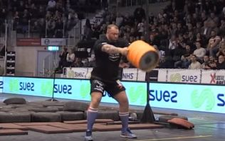 VIDEO: The Mountain from Game of Thrones has once again completed 'Beast Mode'