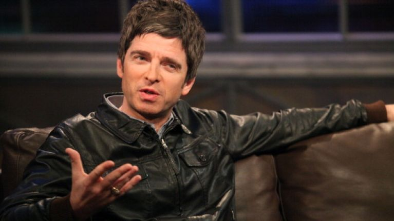 Noel Gallagher tells a great story about going on a serious session with Bono in Dublin