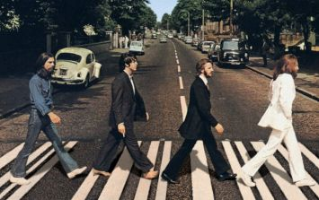 PIC: These lads recreated The Beatles' famous Abbey Road photo GAA-style