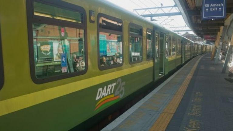 DART services between Dalkey and Greystones will be suspended over weekend
