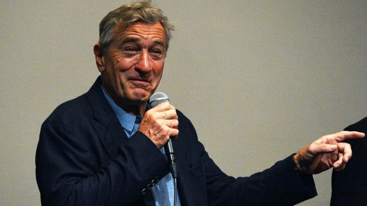 "WATCH: Robert De Niro describes Donald Trump as a ""wannabe gangster"""