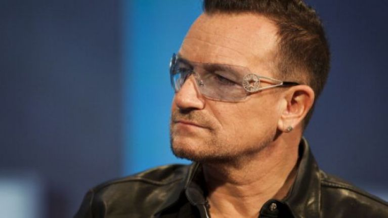 U2 singer Bono was next to the Nice seafront when Thursday's massacre took place