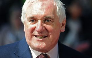 WATCH: Bertie Ahern doesn't 100% rule out the likelihood of running for President