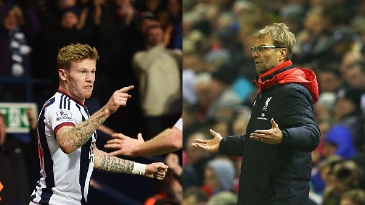 James McClean becomes the first man in football to slag off Jürgen Klopp