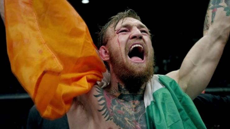 PIC: Conor McGregor bumped into a very familiar face on his flight back to Dublin
