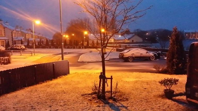 PICS: Parts of Ireland have woken up to snow this morning